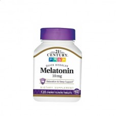 Melatonin 10 mg (21st century) 120 таблеток
