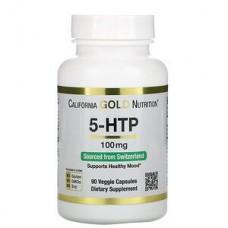 5-HTP 100 mg, California Gold, 90 капс.