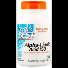 Alpha-lipolic acid 150, 120 капс.