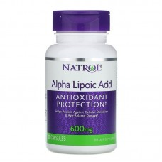 Alpha Lipoic Acid 600 mg, Natrol, 30 капс.