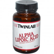 Alpha Lipolic Acid 100mg 60 капс.