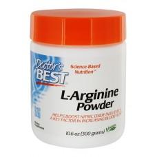 Doctor's Best, Порошок L-аргинин, 300 г