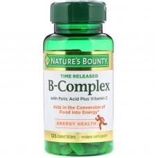 B-Complex Nature's Bounty, 125 таб.