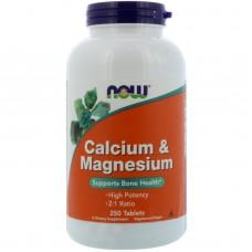 Calcium & Magnesium, 250 табл.
