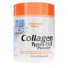 Doctor's Best Collagen Types 1-3 Powder, 200 г