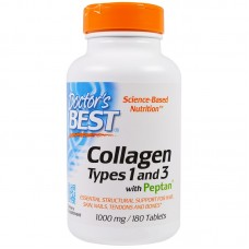 Collagen Types 1 and 3 with Peptan 180 таб.