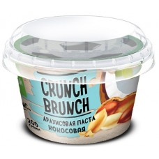 Арахисовая паста Crunch-Brunch кокосовая, 200 г