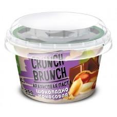 Арахисовая паста Crunch-Brunch шоколадно-кокосовая, 200 г