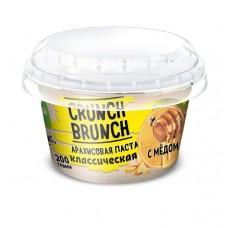 Crunch Brunch Арахисовая паста классическая с мёдом, 200 г