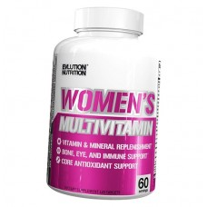 Evlution nutrition Women's multivitamin, 120 табл.