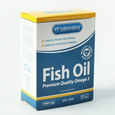 VP Laboratory, Fish Oil, 60 капс.