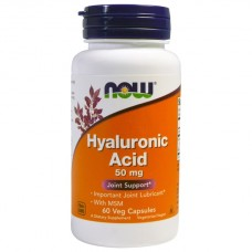 Hyaluronic Acid 50 mg, 60 капс.