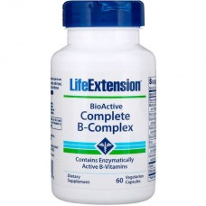 Life Extension, BioActive Complete B-Complex, 60 капс.