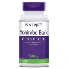 Yohimbe Bark Йохимбин (Yohimbine) 500 мг (Natrol) 90 капс.