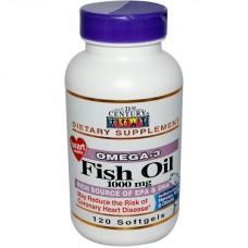 Omega-3 Fish oil, 120 капс