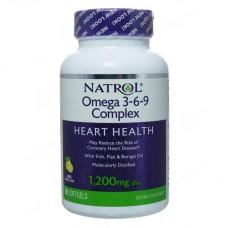 Omega 3-6-9 Complex 1200 мг, 90 капс.